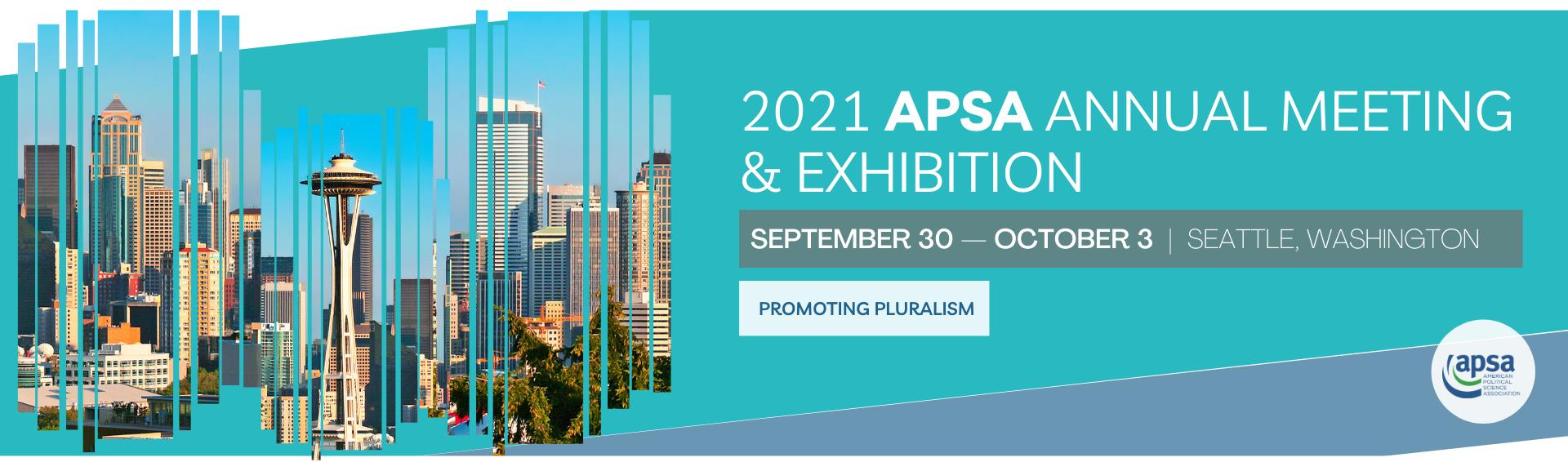 2021 APSA Annual Meeting