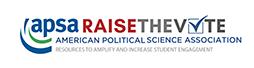 Logo for RAISE the Vote Campaign | APSA