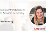 Thumbnail for the post titled: Felon Disenfranchisement and American Democracy