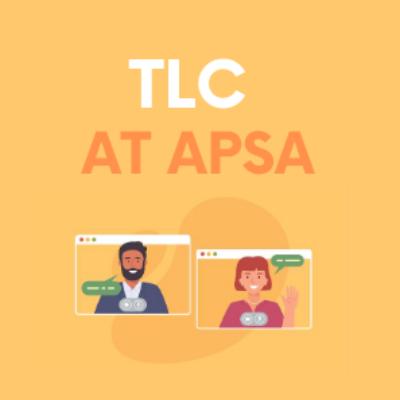 Amtlc logo of TLC at APSA 2020