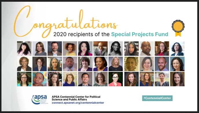 Special Projects Fund 2020 Recipients