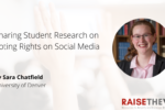 Thumbnail for the post titled: Sharing Student Research on Voting Rights on Social Media